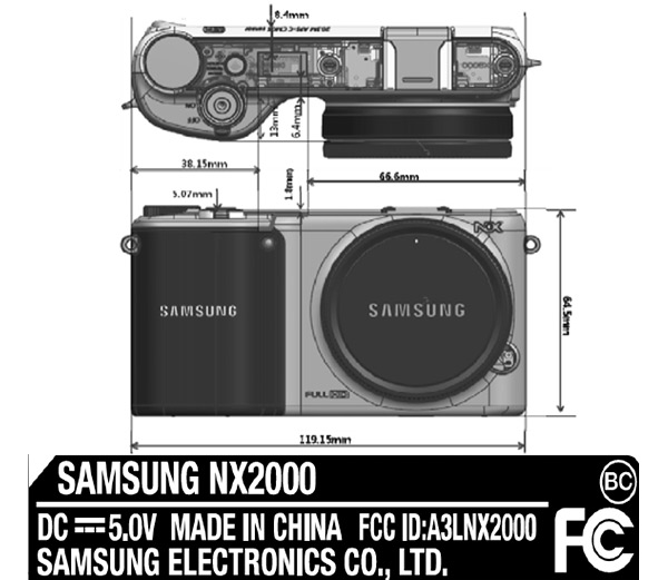 Samsung NX2000 Tizen digital camera