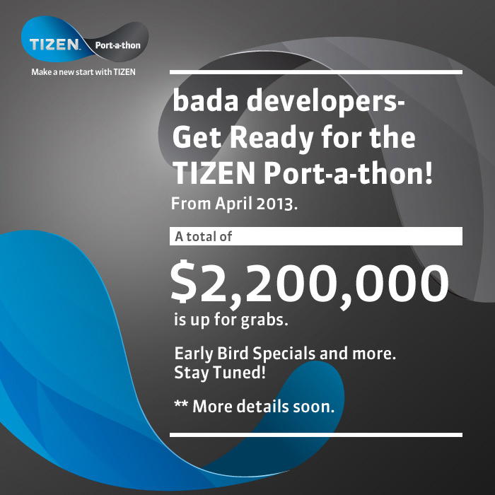 Tizen port-a-thon event