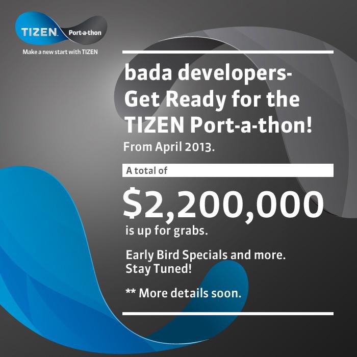 Tizen port-a-thon event