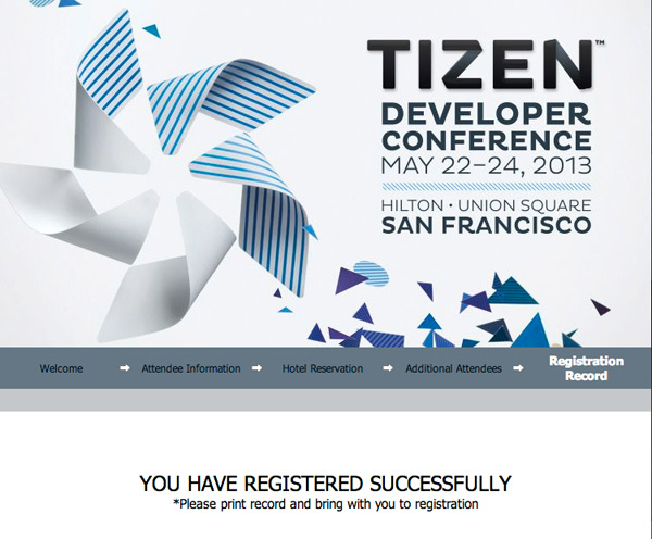 Tizen Developer Conference