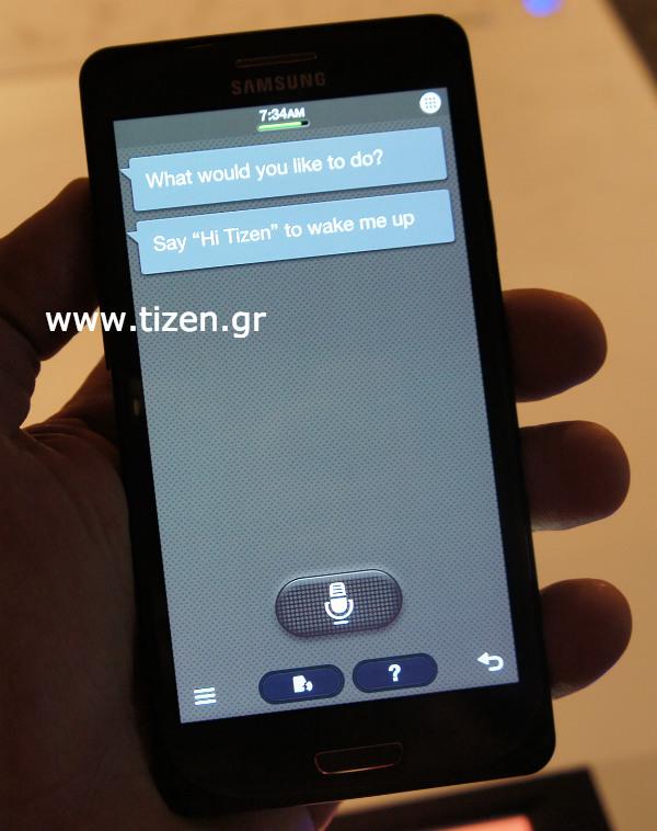 Tizen S-Voice
