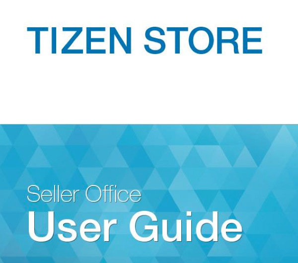 Tizen Store User guide