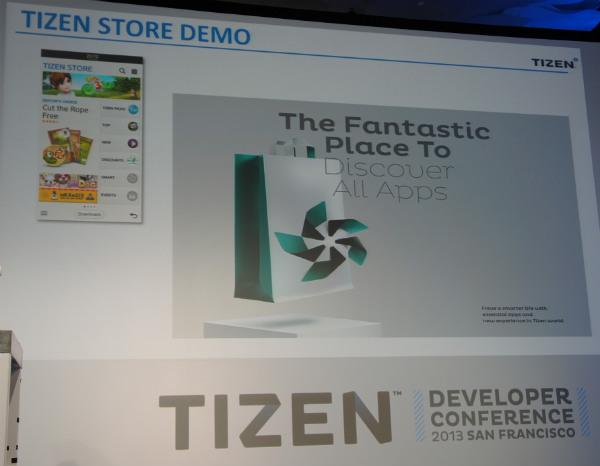 Tizen Store demo