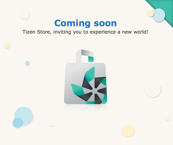 Tizen store soon