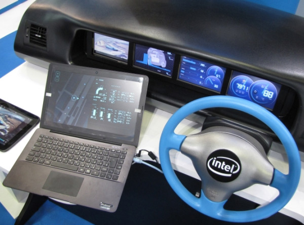 Intel Tizen IVI in-car entertainment