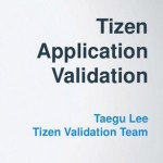 Tizen Application Validation