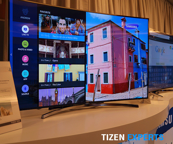 Tizen TV prototype